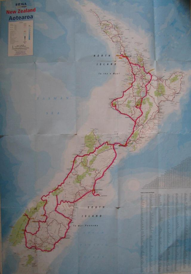 New Zealand in a Campervan 2010