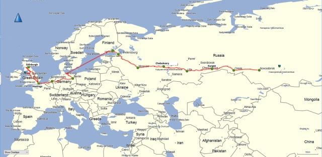 Ride to Novosibirsk