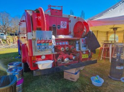 Fire Engine with Beer