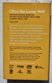 The Levee Wall Mural