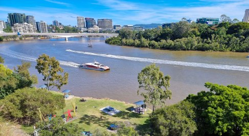 View from Kangaroo Point