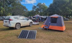 Camping crowds