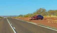 One of many wrecks