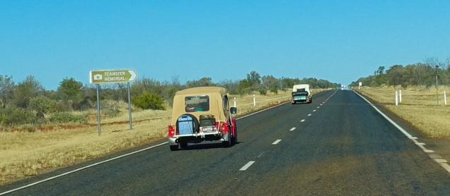 Mini Moke convoy
