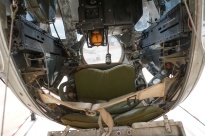 Inside a Belly Turret