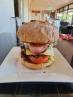 Burger, very good