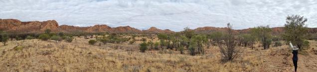 Gosse Bluff Meteorite Crater