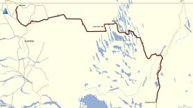 Mt.Dare to Mungerannie across the Simpson Desert