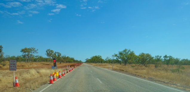 Heading out of Dunmarra